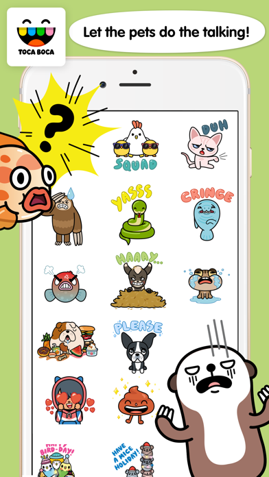Toca Life: Pet Moods screenshot 1