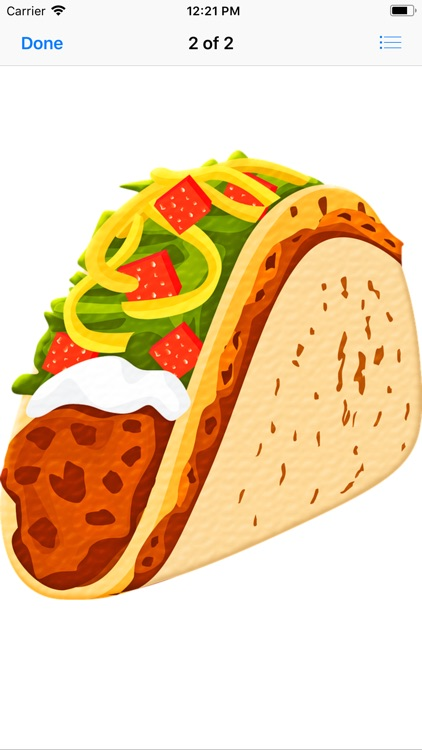 Tasty Taco Stickers screenshot-4