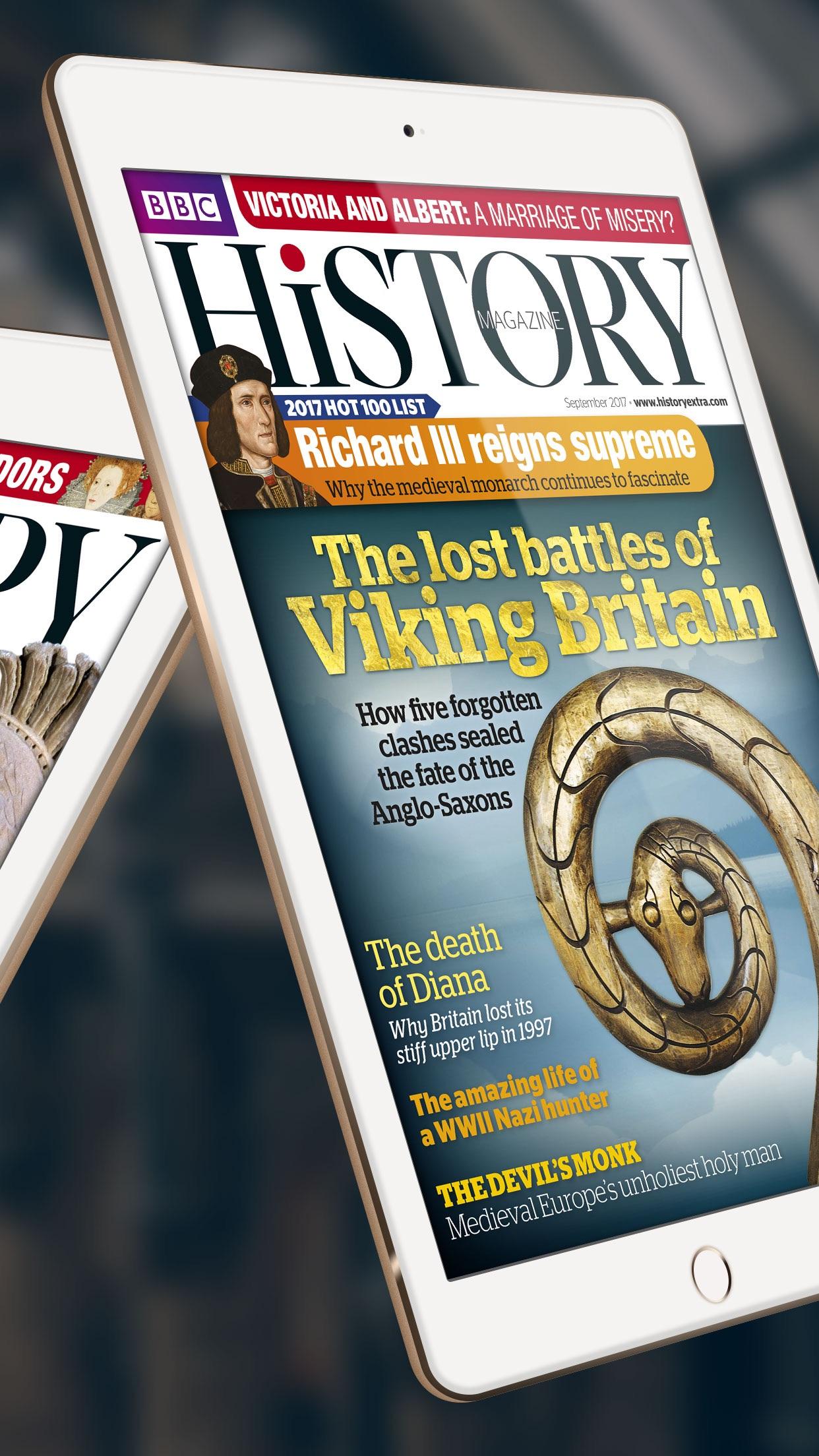 BBC History Magazine - Britain's Guide to the Past Screenshot