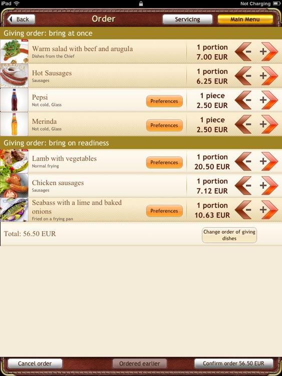 eMenuApp Digital Menu screenshot-3