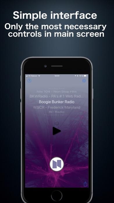 nRadio - Internet Radio App Screenshots