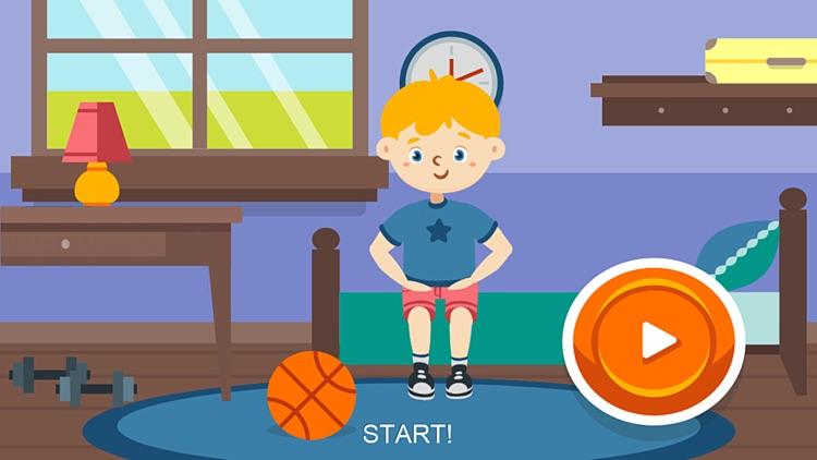 Kids morning exercises