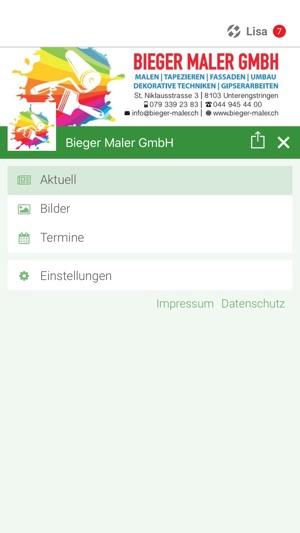 Bieger App