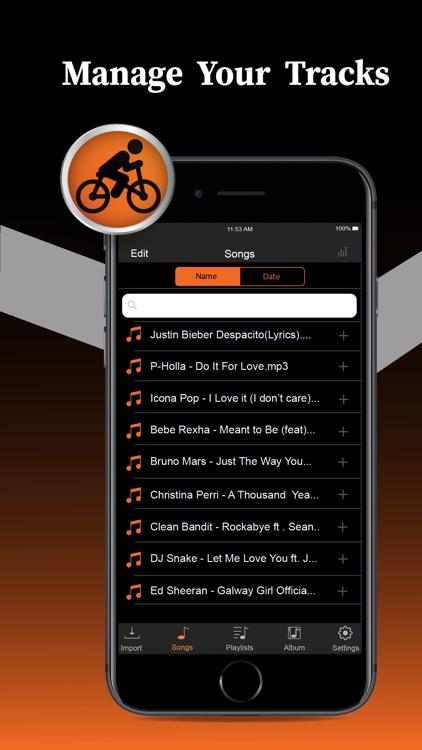 Offline Music Player Pro screenshot-4