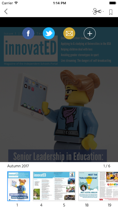 innovatED Magazine screenshot 2
