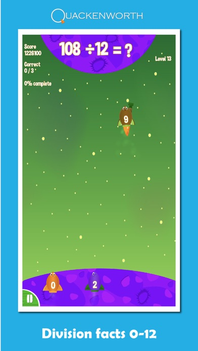 Fruit Rockets Multiplication Screenshot 2