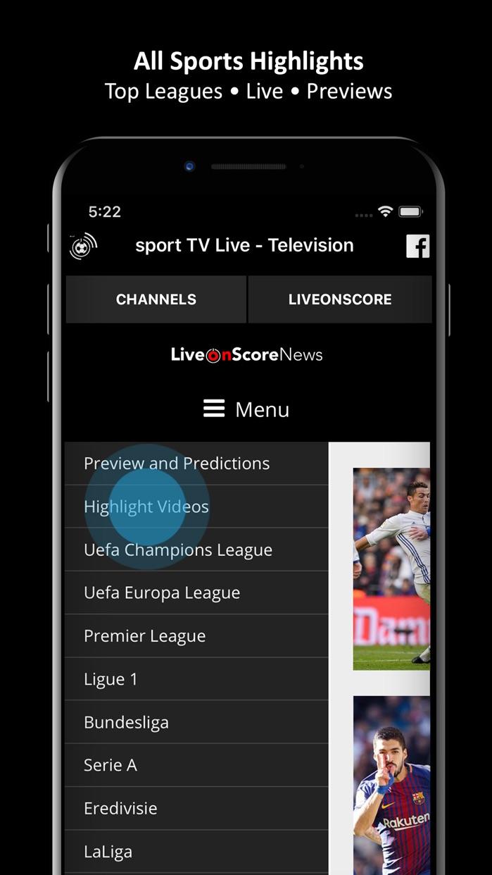 sport TV Live - Television Screenshot