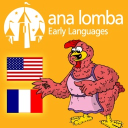Ana Lomba's French for Kids: The Red Hen (Bilingual French-English Story)