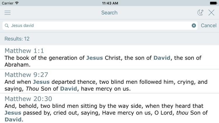 King James Bible with Audio screenshot-3