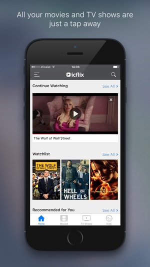 icflix pour iphone