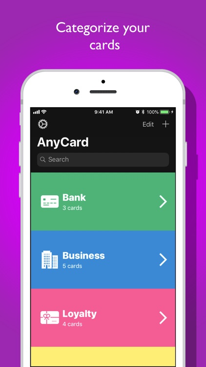 AnyCard - Card Holder