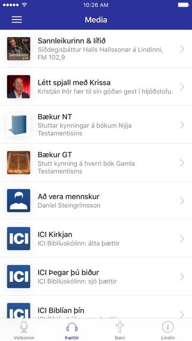 Lindin mín screenshot 2