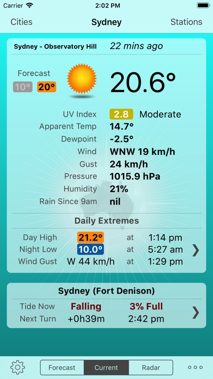 Oz Weather Plus