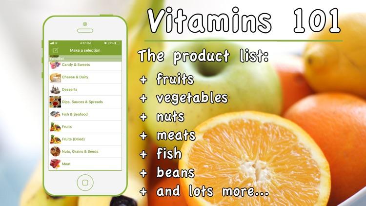 Vitamins 101