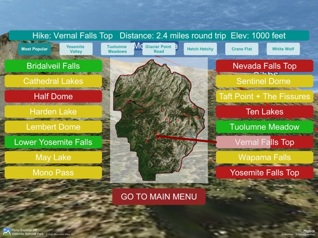Parks Explorer VR Yosemite on the App Store