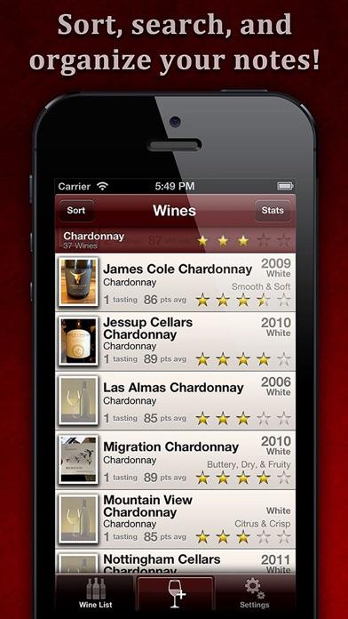 WineAlbum - Wine Tasting NotesScreenshot of 3