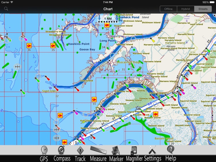 Lake St. Clair GPS Charts Pro screenshot-3