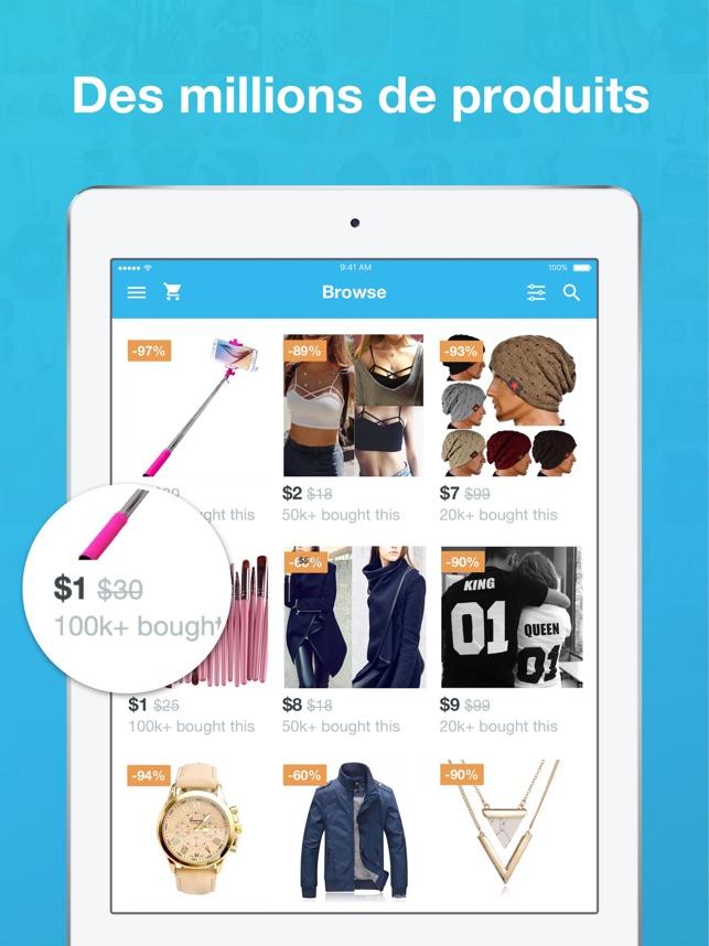 Wish Des Soldes Toute L Année wish - acheter en s'amusant dans l'app store