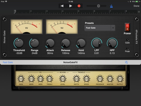 Noise Gate AUv3 Plugin screenshot 5