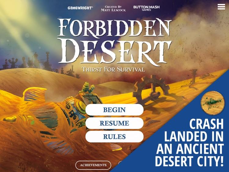 Forbidden Desert screenshot-0
