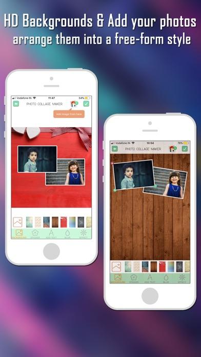 Foto Collage Maker Foto-EditorScreenshot von 3