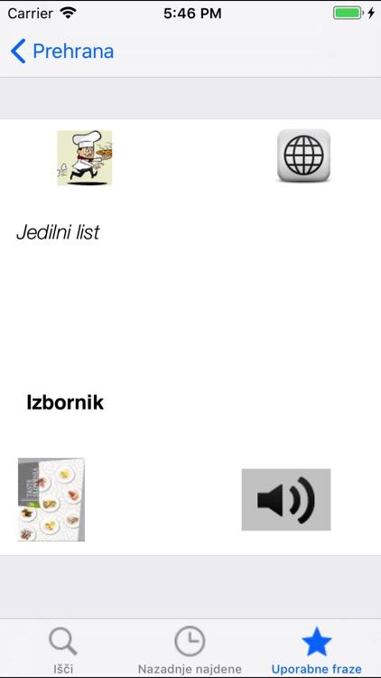 Hrvatsko slovenski riječnik screenshot-4