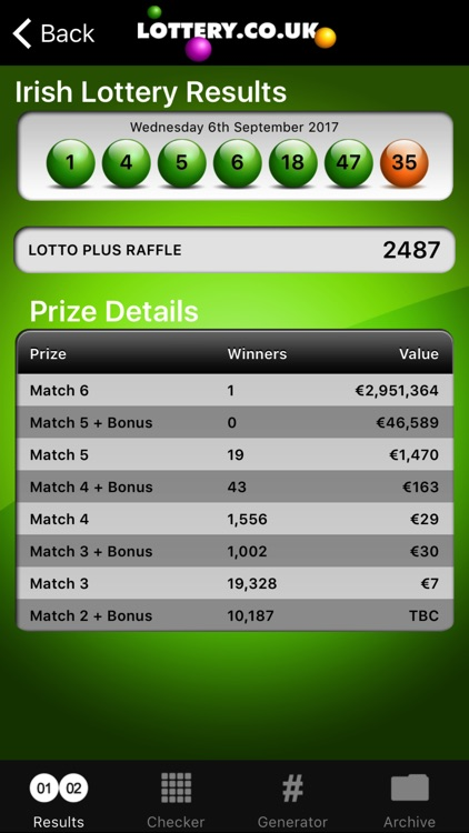 Irish Lotto screenshot-2