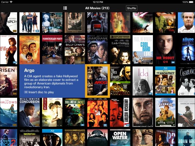 Kaleidescape Second Screen