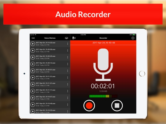Voice Recorder & Audio Memos Preview 5