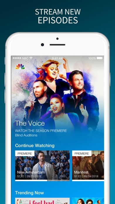 The NBC App – Stream TV Shows for Windows