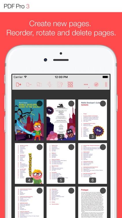 PDF Pro 3 – The ultimate PDF app screenshot-4