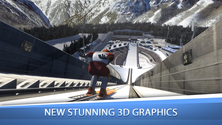 Ski Jumping Pro screenshot-0