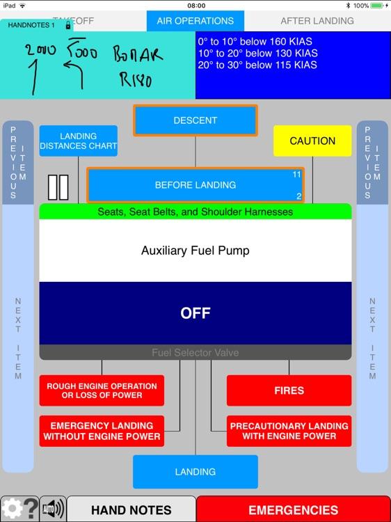 Aero Checklist