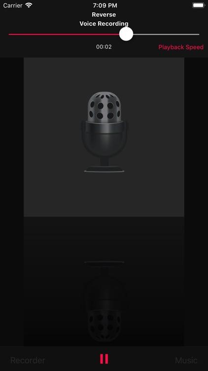 Reverse Music Player screenshot-3