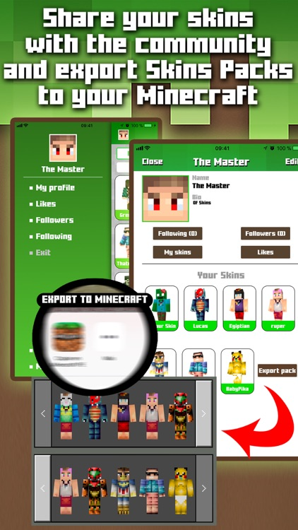 Skins for Minecraft MCPE
