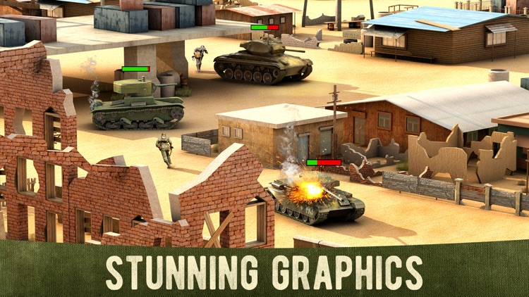 War Machines: 3D Tank Shooting screenshot-3