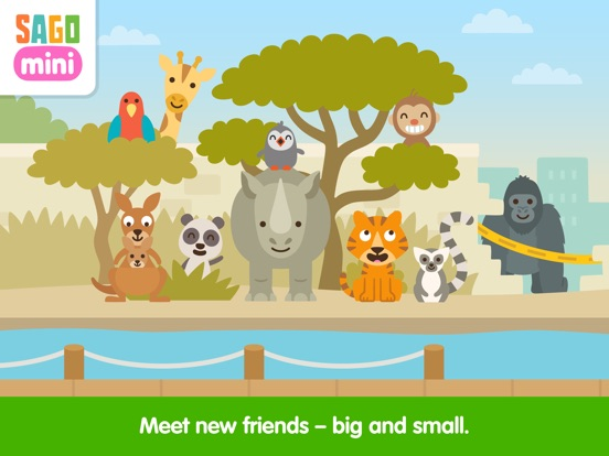 Sago Mini Zoo screenshot 9