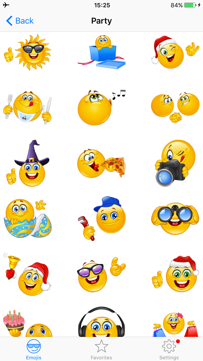 Adult Emojis Smiley Face Text Screenshot