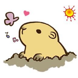 Happy Groundhog Day Emoji Pack