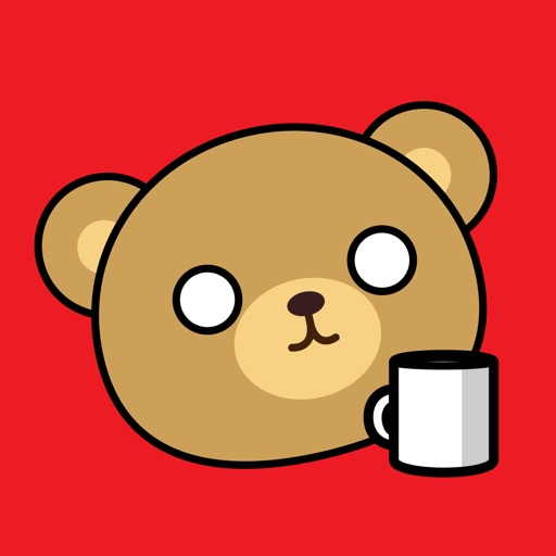 Coffee Bear Animated Stickers