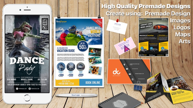 Design & Flyer Creator Pro screenshot-3