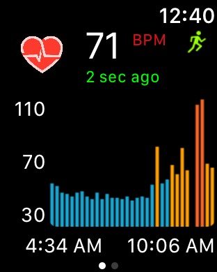 Cardiogram for Apple Watch Screenshot