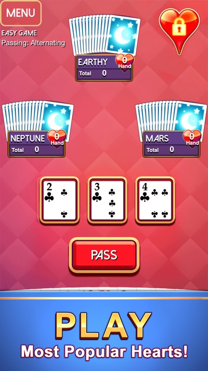 Hearts - Classic Card Game screenshot-0