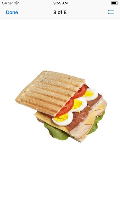Scrumptious Sandwich Stickers screenshot-8