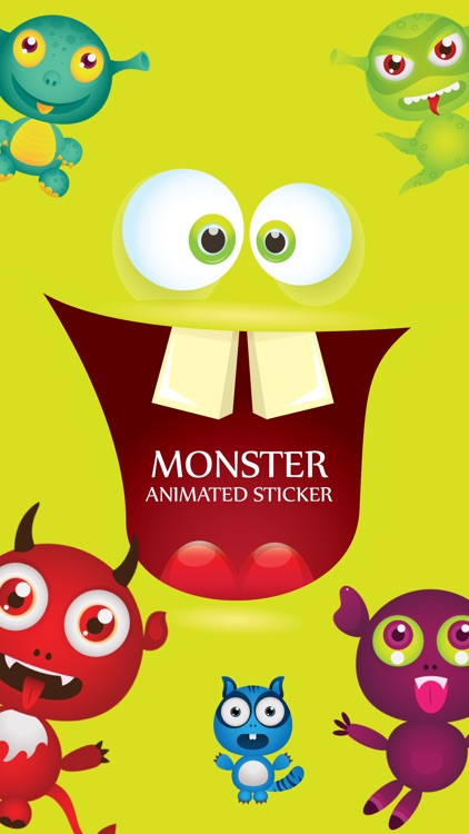 Animated Cute Monsters