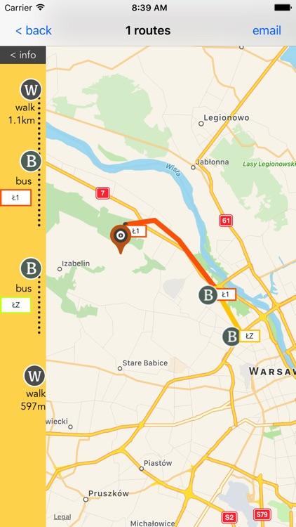 Warsaw Public Transport screenshot-3