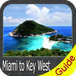 Marine : Miami to Key West - GPS Map Navigator