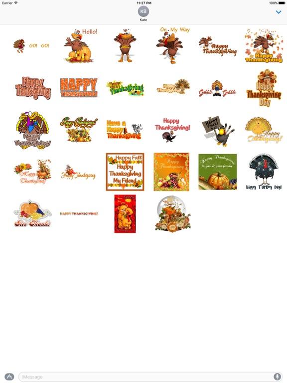 Animated Thanksgiving Day screenshot 3
