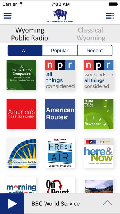 Wyoming Public Radio App screenshot-4