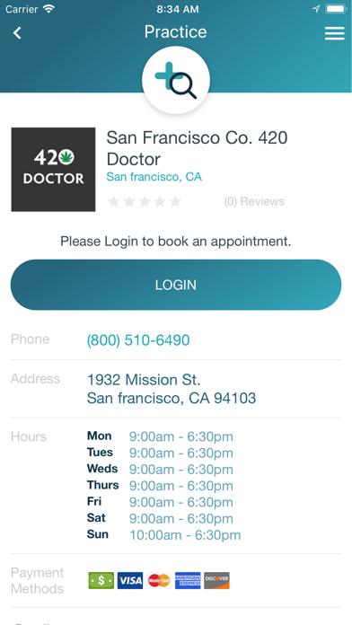Marijuana Doctors screenshot three